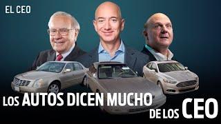 Los autos dicen mucho de los CEO
