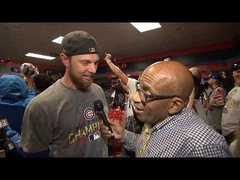 Al a interview World Series MVP Zobrist