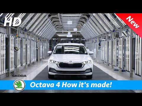 Škoda Octavia 4 2020 - Production and quality test (This is how it's made!), iV, RS, ...