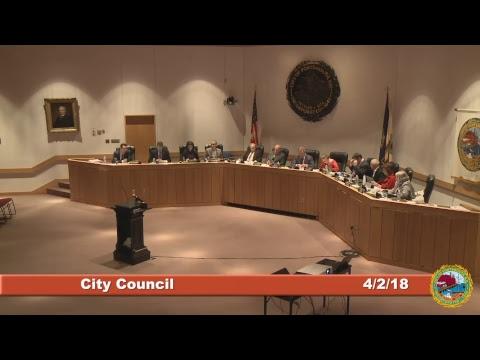 City Council 4.2.18