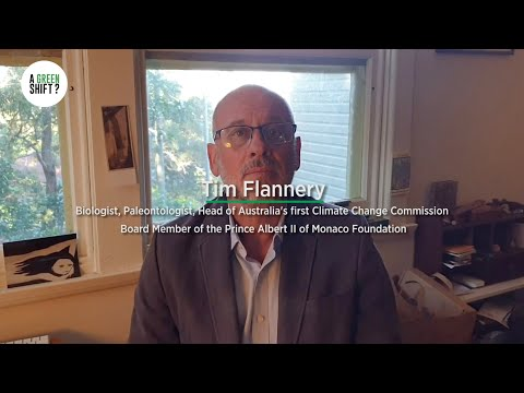 A Green Shift? - Tim Flannery
