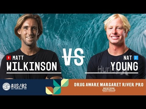 Matt Wilkinson vs. Nat Young - Round Two, Heat 2 - Drug Aware Margaret River Pro 2017