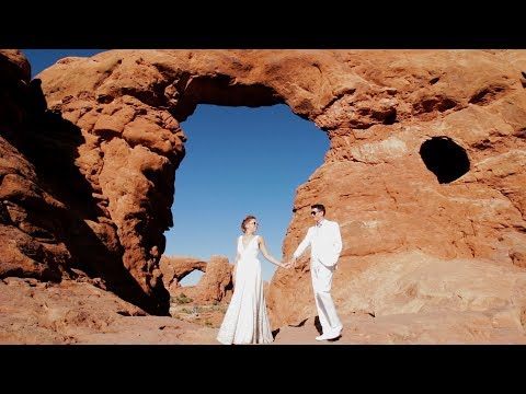 Dante + Anna Moab Under Canvas Wedding Film, Utah {Moab, Utah videographer}