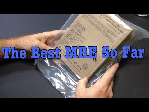 2013 Eversafe Civilian MRE Review Scalloped Potatoes With Ham