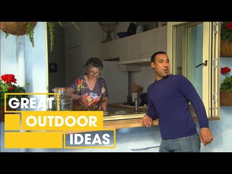 Moroccan-Style Outdoor Makeover | Outdoor | Great Home Ideas