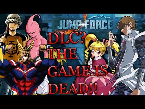 Jump Force - 9 character DLC Datamine Rant