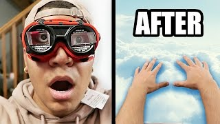 TRICK YOUR MIND TO FEEL LIKE YOU'RE FLYING FOR 30 SECONDS!!