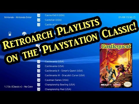Playstation Classic | Playlists, Themes, Cheats and