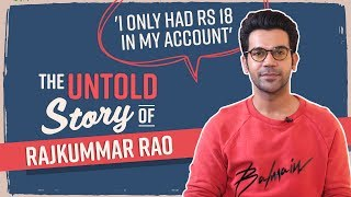 Rajkummar Rao's UNTOLD Story of nepotism, rejection & tough times: I only had Rs 18 in my account