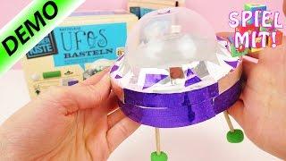 Ufo selber basteln - Kosmos Alles Könner Kiste - Kathi baut ihr Ufo   Kosmos Experimentierkasten