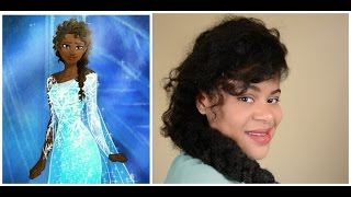 Haar Inspiratie: Brown Elza (Frozen)