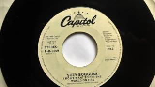 I Don't Want To Set The World On Fire , Suzy Bogguss ,1987