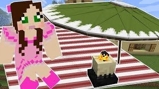 Minecraft: OUTDOOR FURNITURE! (PICNIC BASKET, BLANKET, UMBRELLA, & MORE!)!) Command Creation