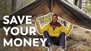 How to Make a Tarp Shelter | The $20 Tent