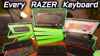 Complete Razer Keyboard Comparison & Sound Compilation