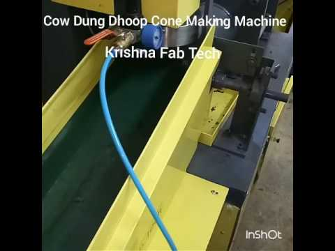 Dhoop Cone Making Machine