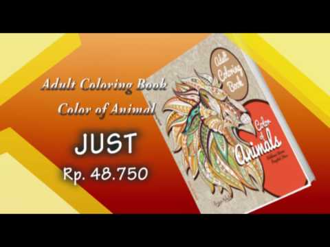 Adult Coloring Book sale 25 %