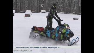 Любители зимнего экстрима отправились из Чувашии в пятидневный снегоходный тур в Башкирию
