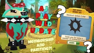 ANIMAL JAM PLAY WILD - TRADING ATTEMPTS : BLACK SPIKED