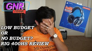 RIG 400HS PS4 Gaming Headset Review