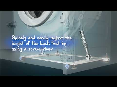 Beko Built In Washing Machine Fully WIC74545F2-EX-DISPLAY - Fully Integrated Video 1