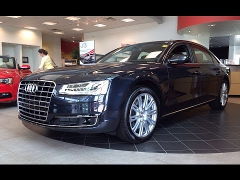 2015 Audi A8 L 4.0T Quattro Tiptronic Exterior & Interior In Depth Review
