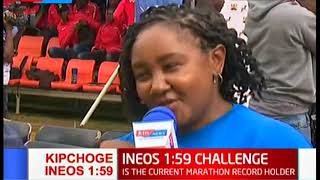 Nairobi residents predict Eliud Kipchoge to break the INEOS 159 Challenge