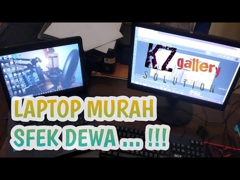 Wow wow .. !!! Gile bener ... Rekomendasi Laptop Spec mewah harga kaki lima guys ... KZ gallery