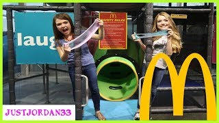 Making Slime In McDonalds Playground / JustJordan33