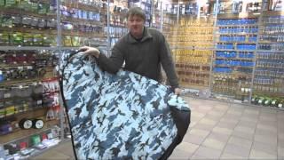Как собрать зимнюю рыбацкую палатку