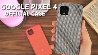 Official Pixel 4 Fabric Cases Review
