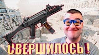 ВАНШОТНЫЙ CZ Scorpion Evo3 A1☛WARFACE