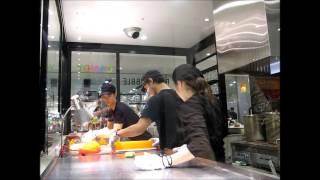 2015-04-10 Making sweets, Tokyo