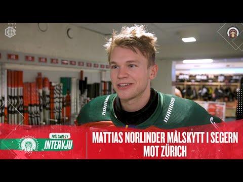 Youtube: Efter 4-3 mot Zürich: Mattias Norlinder om förlängningsdramat i Borgen