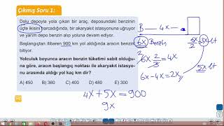 Eğitim Vadisi TYT Matematik 22.Föy ve 23.Föy Hız Problemleri Konu Anlatım Videoları