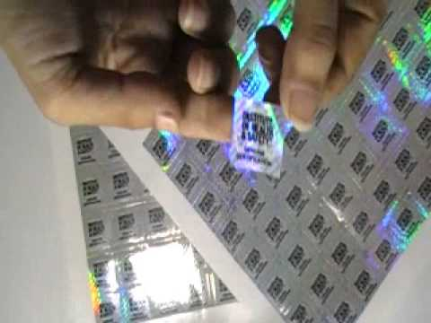 Hologram Stickers at Best Price in India