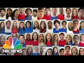 Watch Singers From Around The U.S. Sing The National Anthem To Open The DNC | NBC News