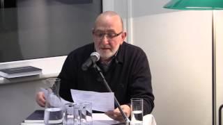 Michael Guggenheimer liest Heimrad Bäcker.