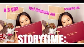 STORYTIME: LOSING FINANCIAL AID, GRADUATING WITH A LOW GPA, VA Benefits