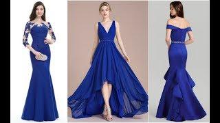 Beautiful Long Blue Evening Dresses