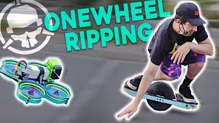 FPV vs. Onewheel STUNT Riders!