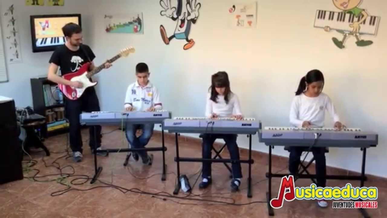 El rock de la papa frita - Grupo de Alumnos de Mi Teclado 4 - Juventudes Musicales de Alcalá