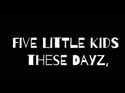 FIVE LITTLE KIDS THESE DAYZ~Cynthia Chen the splendid disaster