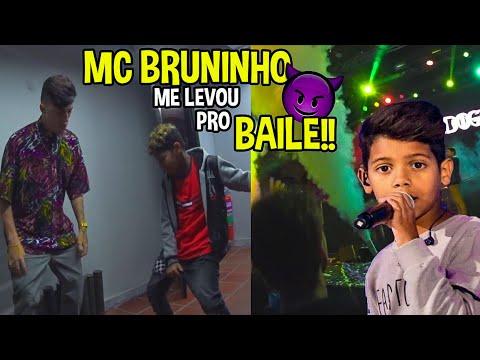 BAILE COM MC BRUNINHO & ENCONTREI O MENINO DA PISCINA!