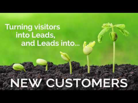 Turning Visitors into Leads and New Customers