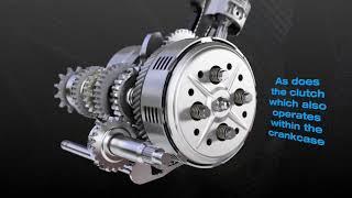 4-Stroke Motor Cycle Animation