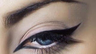 ВСЁ ДЛЯ ДЕВУШЕК И ДЕВЧОНОК!!!, Макияж глаз – как научиться рисовать стрелки карандашом