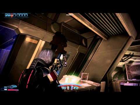 Видео Баги Mass Effect 3: Гаррус Вакариан застрял в стене