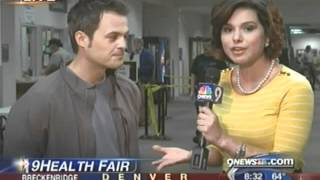 9NEWS' Belen DeLeon at the Red Rocks Community College 9Health Fair