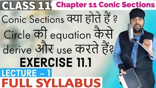 Exercise 11.1 Chapter 11 Conic Sections Class 11 IIT JEE Mains
